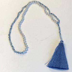Tassel handmade Crystal and Pearl